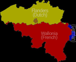 Three Official Languages in Belgium
