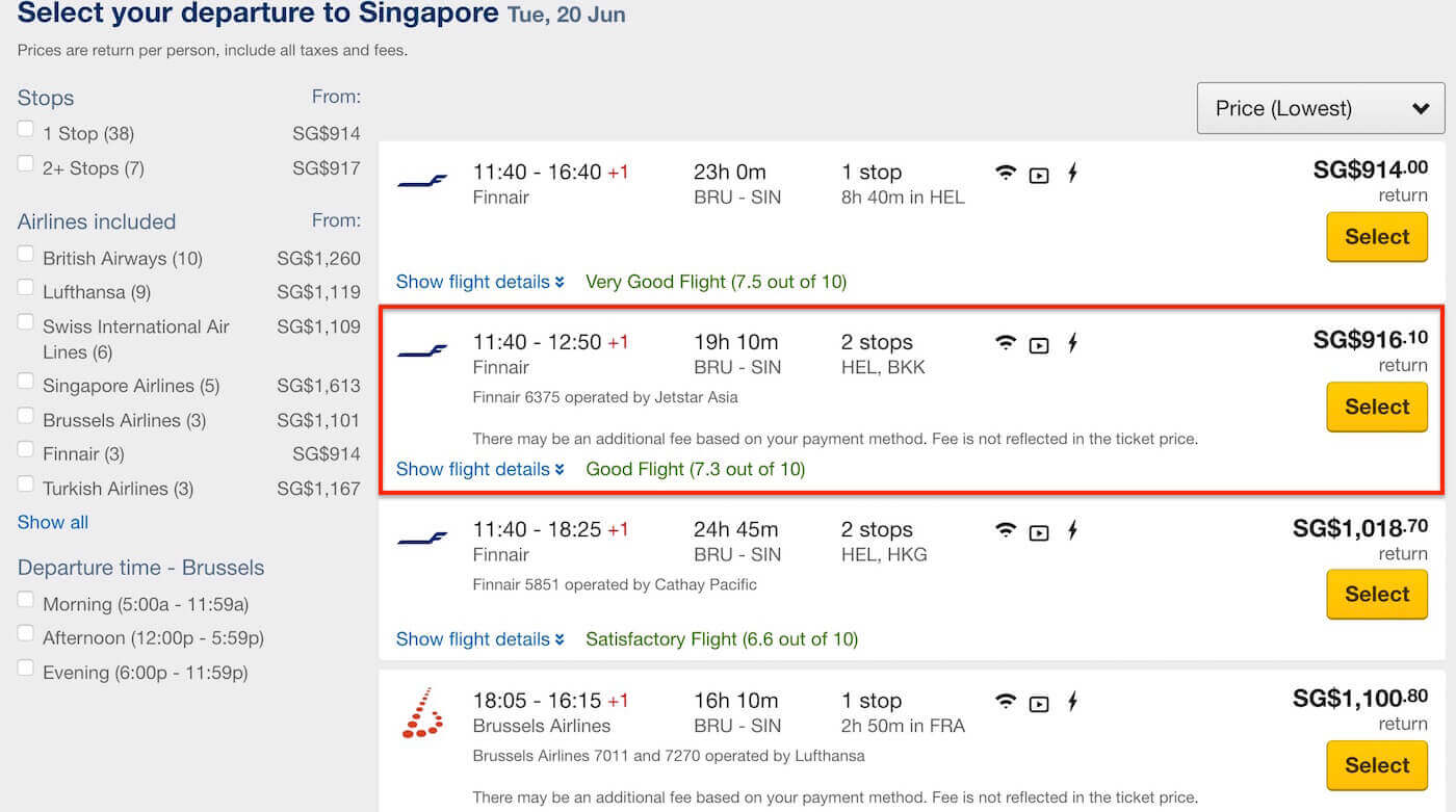 Cheap Flights from Brussels to Singapore - Expedia Singapore