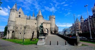 Het Steen Castle in Antwerp along River Scheldt But What's There to See?