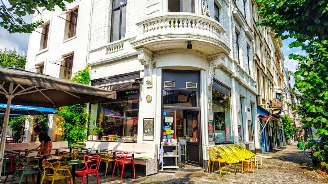 Yam Thai Antwerpen Exterior
