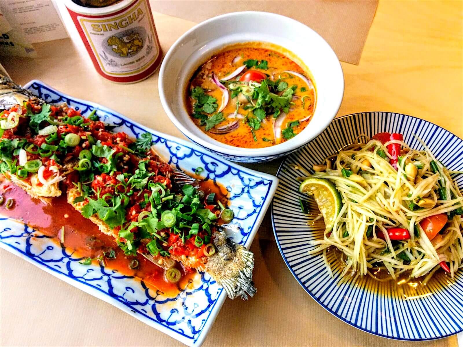 Food Review in Antwerp: Yam Thai Restaurant - Thai Cuisine