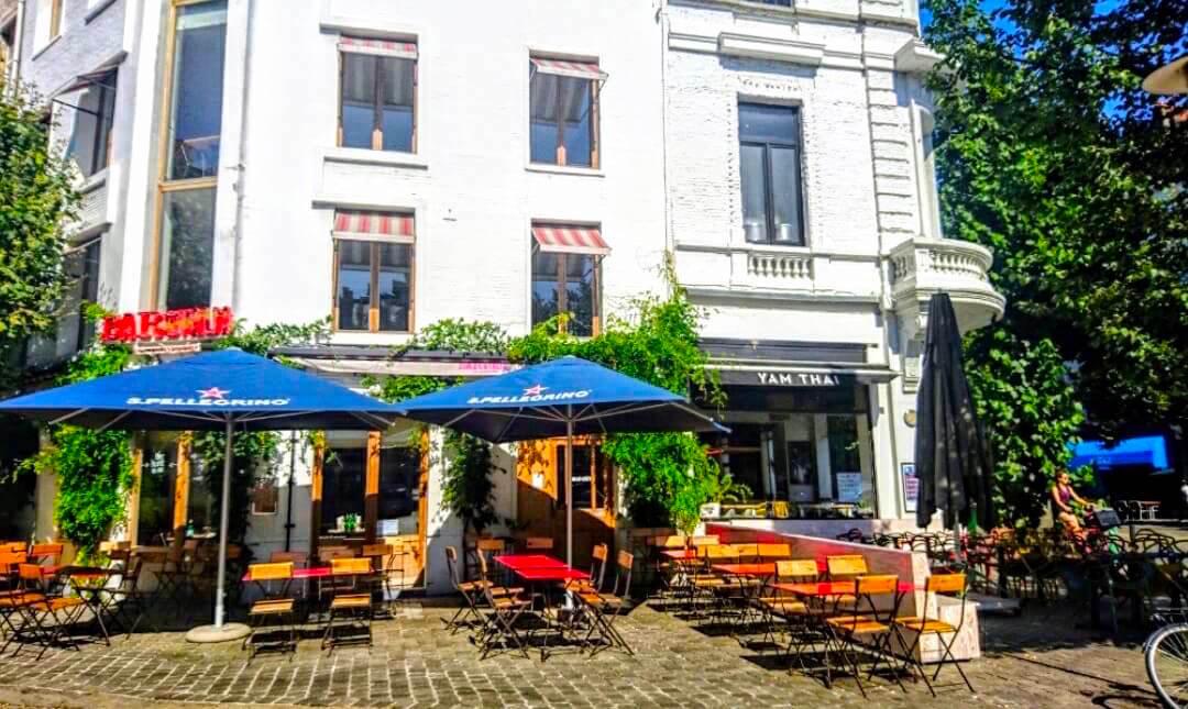Yam Thai Restaurant Outdoor in Antwerp, Belgium