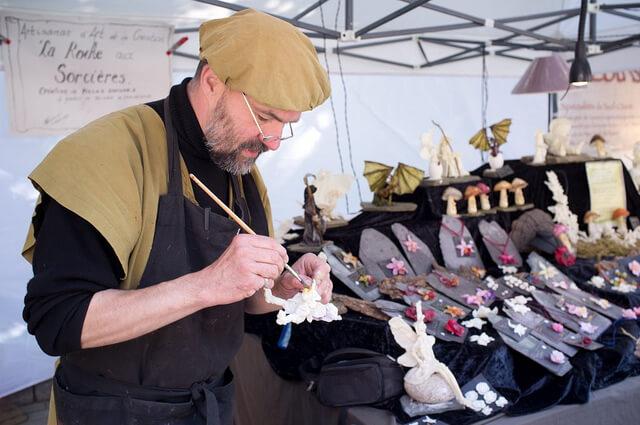 Etterbeek Medieval Market: Artisan at Work (Marché Médiéval d'Etterbeek)