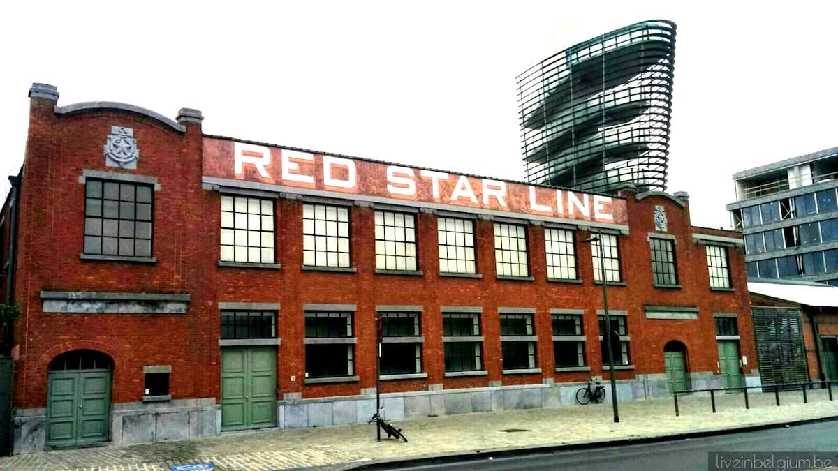 Red Star Line Museum near to Goegekregen Flea Market @ SNITT. Vintage & Tweedehands Kledingmarkt at StAck