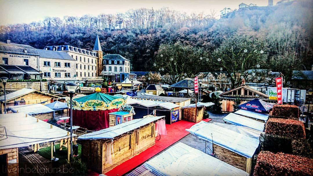 Durbuy Christmas Market in Belgium