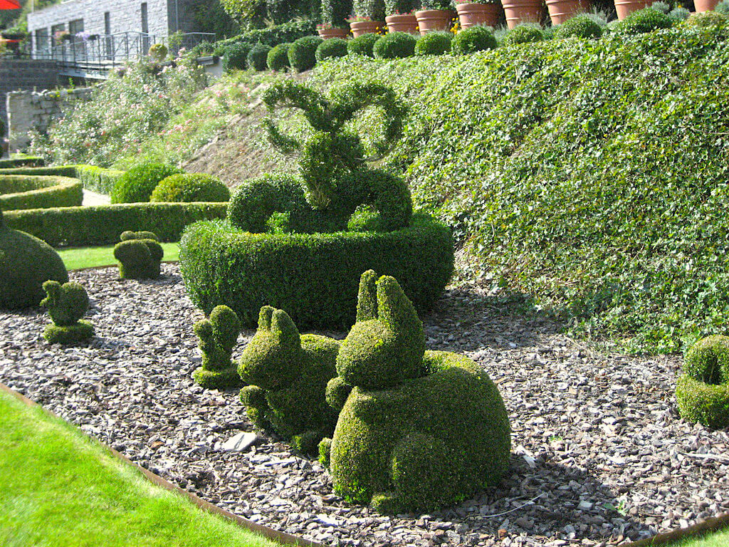 Durbuy Topiary Park is the largest in the world in Belgium smallest city.