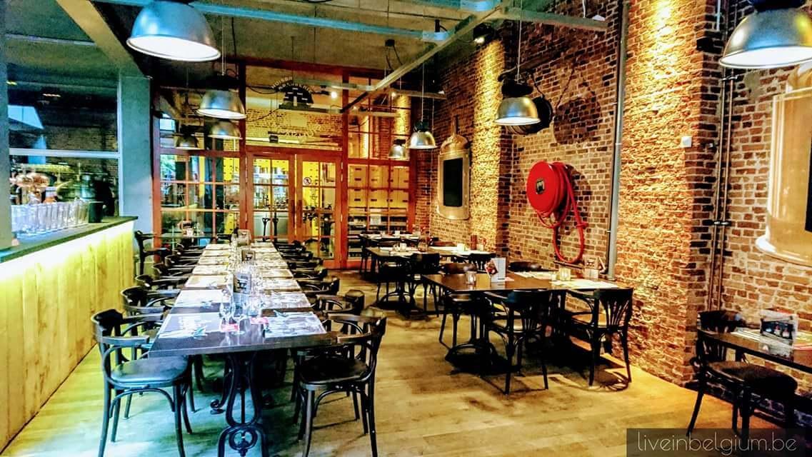 Brasserie Het Pakhuis Antwerpen Dining Hall