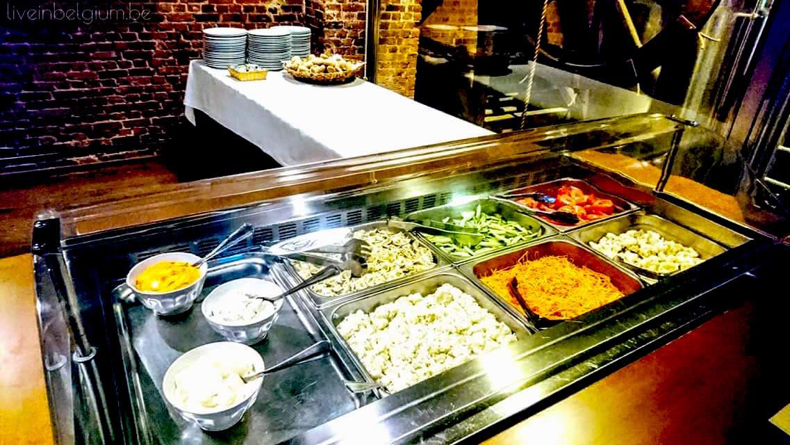 Salad Bar @ Pakhuis Restaurant Antwerpen