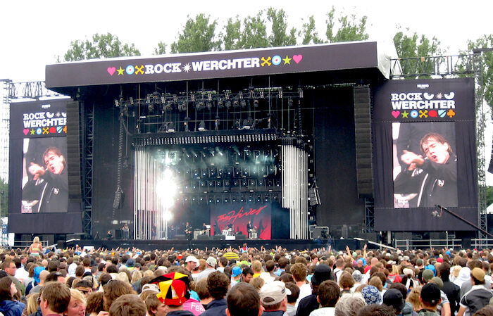 Best Place to Go in Belgium: Rock Werchter Rock Music Festival