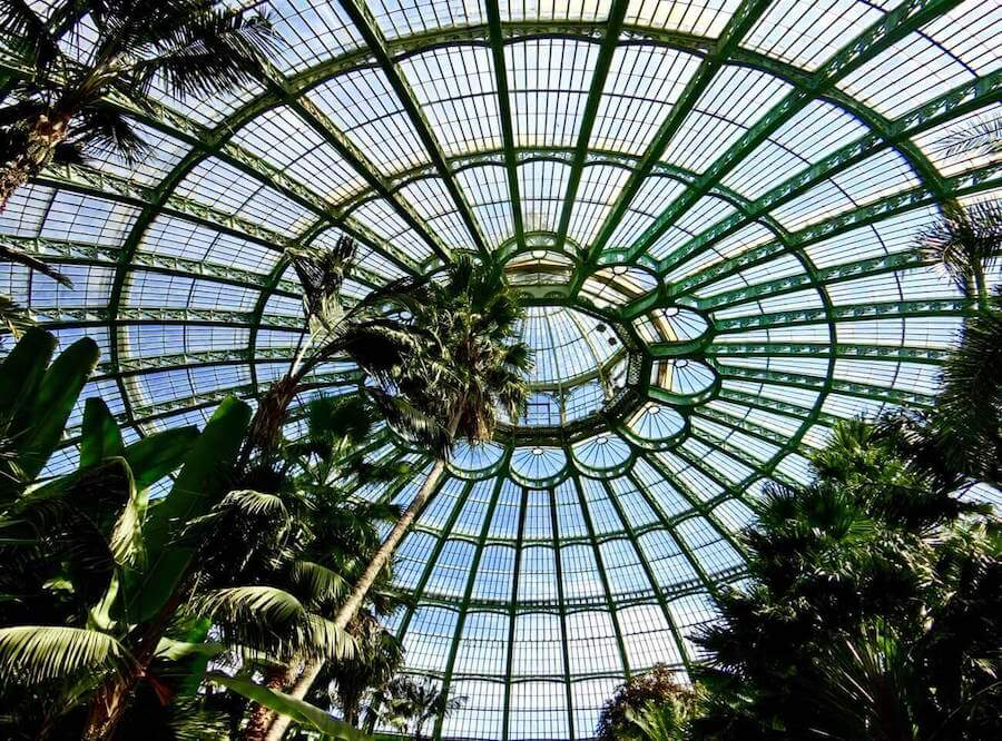 Things to do in Belgium in April and May: Royal Greenhouses of Laeken