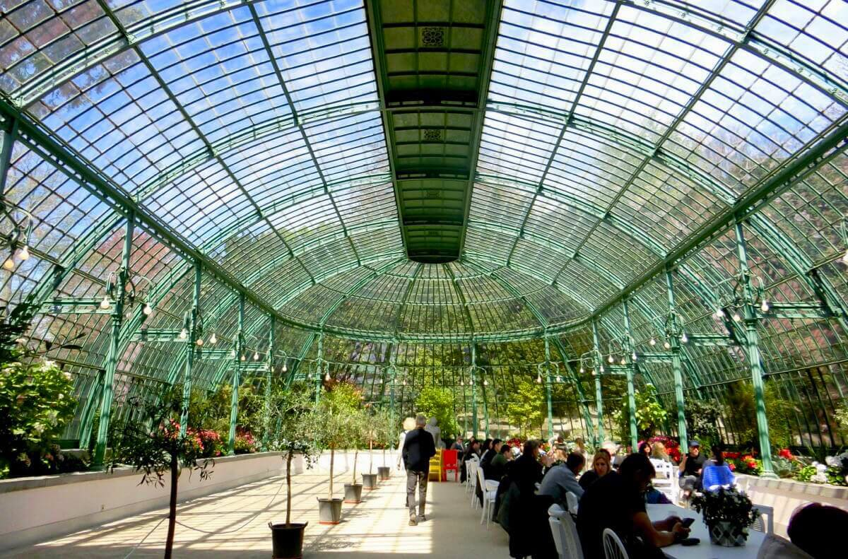 Banquet Greenhouse @ Royal Greenhouses of Laeken