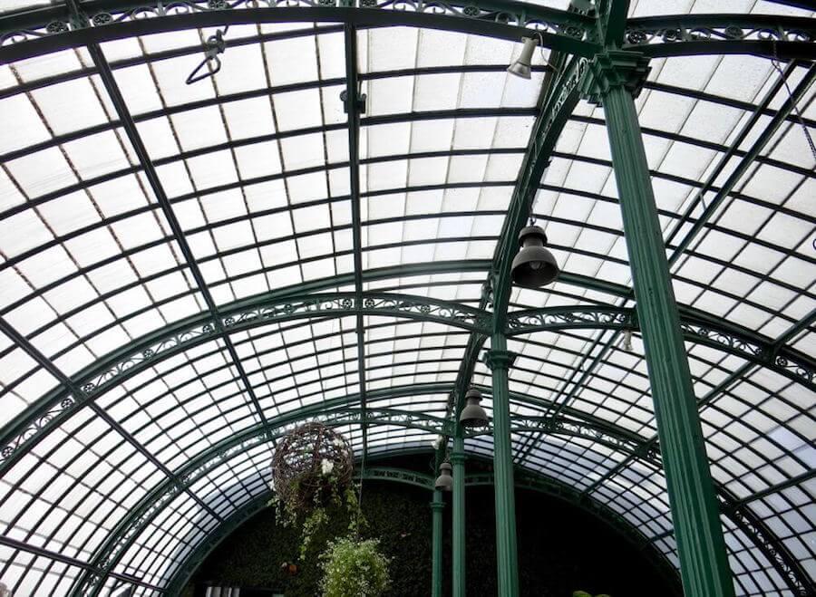 Loggia Ceiling @ Serres Royales de Laeken