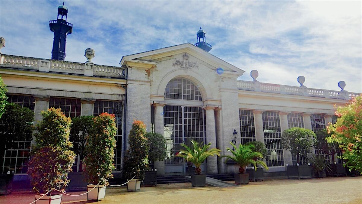 The Orangery is the oldest monument and greenhouse @ Royal Greenhouses of Laeken