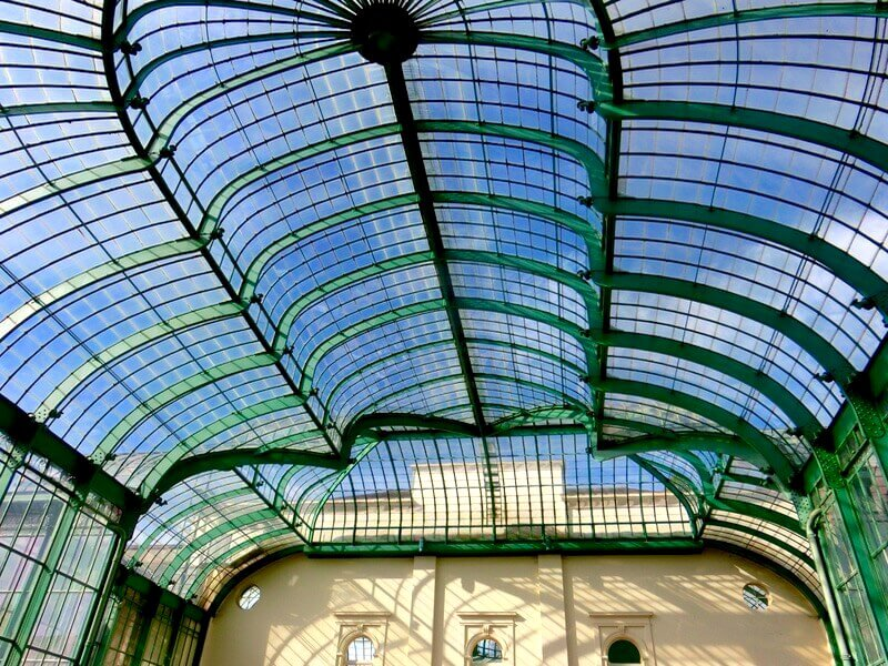 Theatre Greenhouse Ceiling @ Royal Greenhouses of Brussels