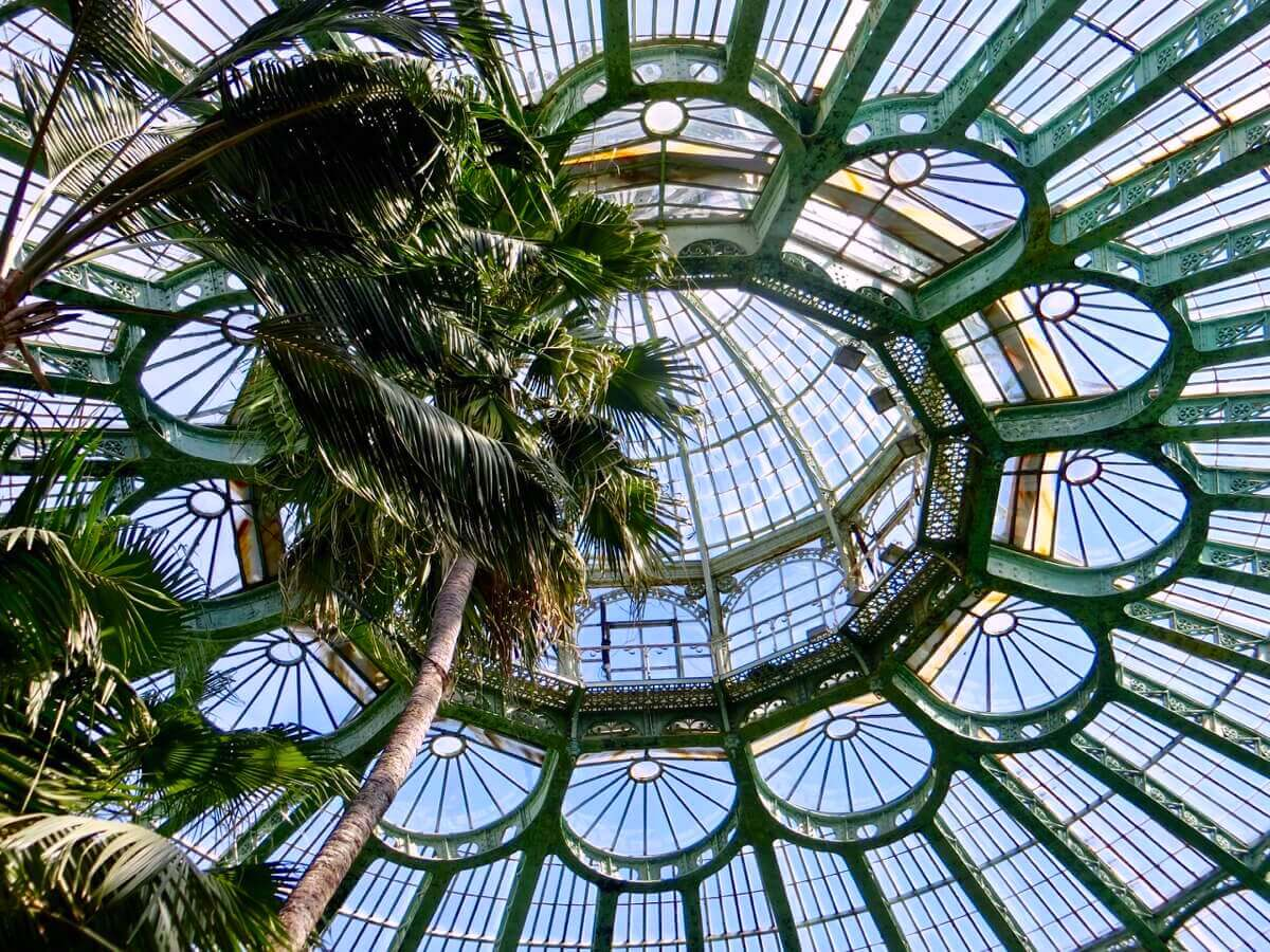 Winter Garden Ceiling Motif Decoration @ Royal Greenhouses of Laeken