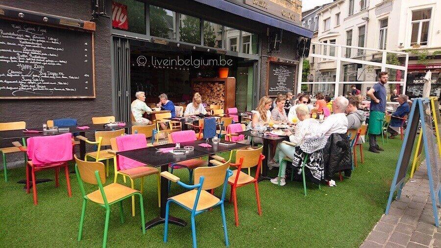 Dageraadplaats Brasserie - Aan Het Strand van Oostende