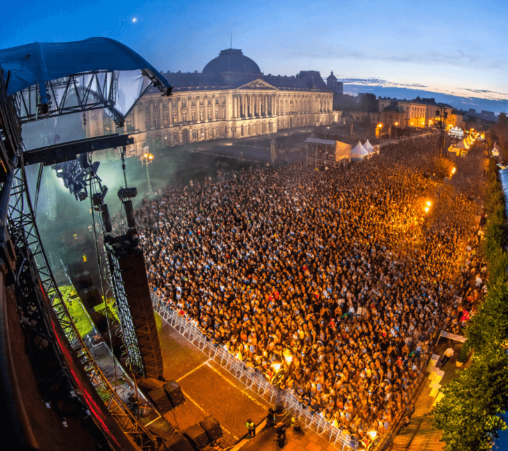 Interesting Things to do in Belgium: Brussels Summer Festival