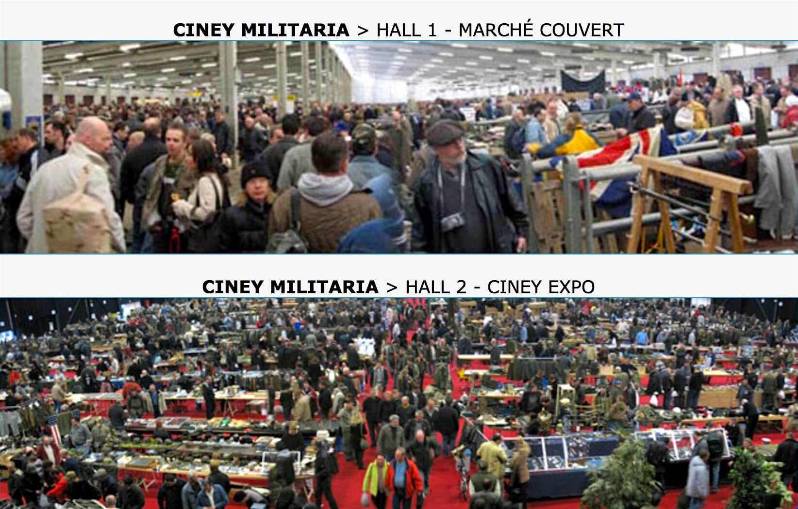 Ciney Militaria Expo in Namur, Wallonie, Belgium