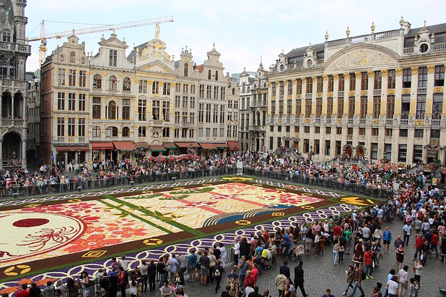 Flower Carpet Brussels