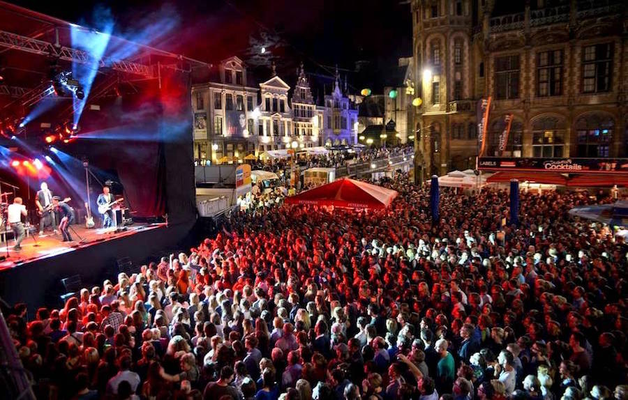 July Event: Ghent is one of the best cities and places to visit in Belgium: Gentse Feesten