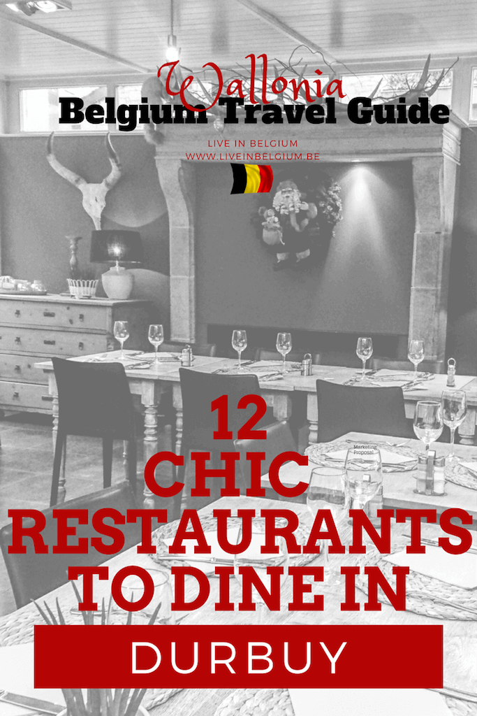 Chic Restaurants to Dine in Durbuy Belgium