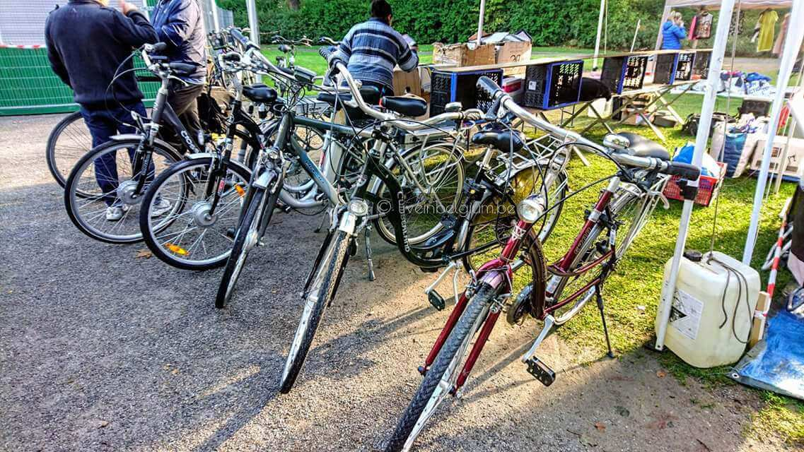 Bike for Sales at Rommelmarkt Goegekregen in 't Stadspark - Antwerp Flea Market