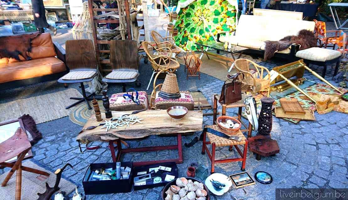 Rommelmarkt Goegekregen in 't Stadspark - Flea Market in Antwerp
