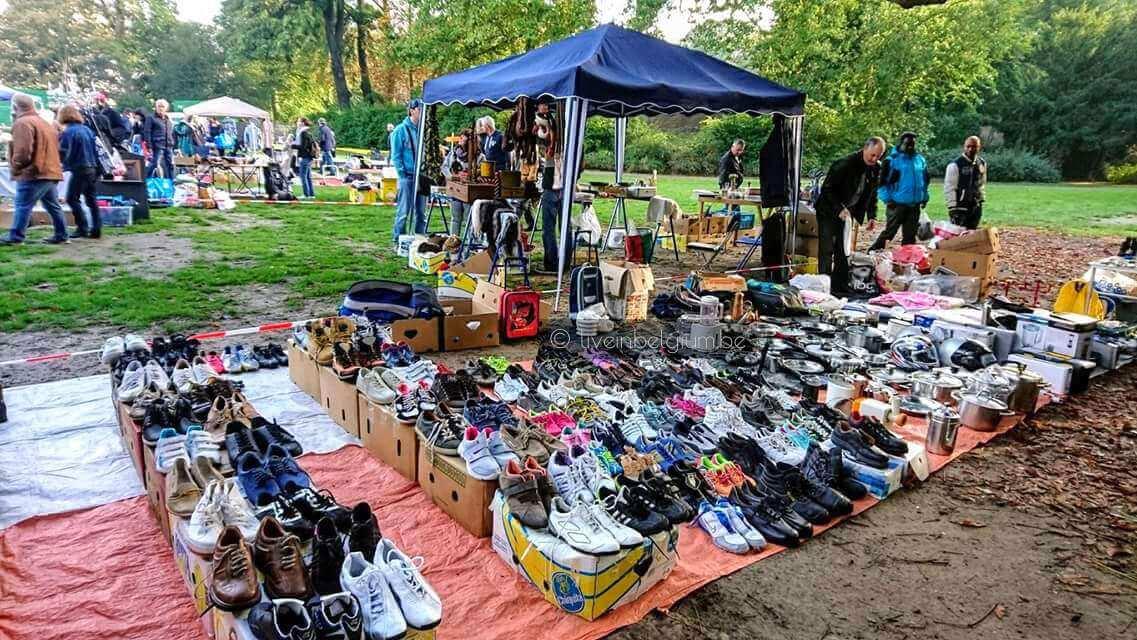 Rommelmarkt Goegekregen in 't Stadspark - Antwerp Flea Market