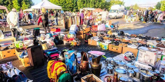 Goegekregen Flea Market @ Rommelmarkt langs de Antwerpse Singel