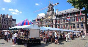 Swan Market Antwerpen @ Grote Markt