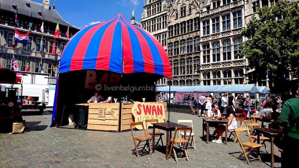 Swan Market Antwerpen Bar @ Grote Markt
