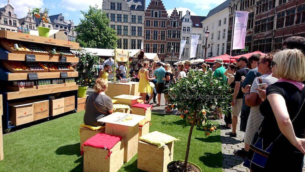 Swan Market Antwerpen Free Drinks