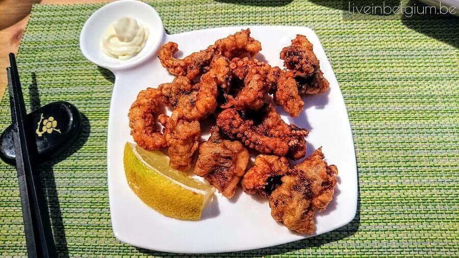 Yamato Antwerpen Takokarage (Spicy Deep Fried Octopus)